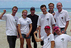 PADI IDC - succesful IDC IE Candidates on Kata Beach